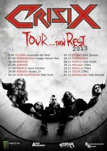 Crisix Tour Then Rest