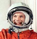 """El """"Astrobastard"""" está basado en el famoso astronauta ruso Yuri Gagarin, el primer hombre en viajar al espacio."""