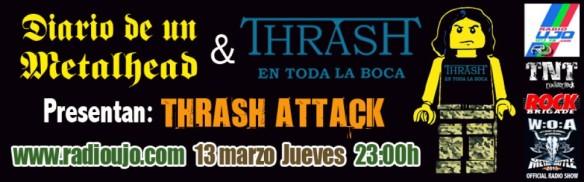 Diario de un metalhead - Thrash en toda la boca - Thrash attacks